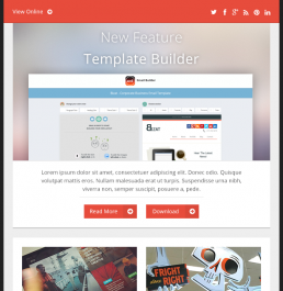 Email Templates Beautiful Email Newsletters - Buy email templates
